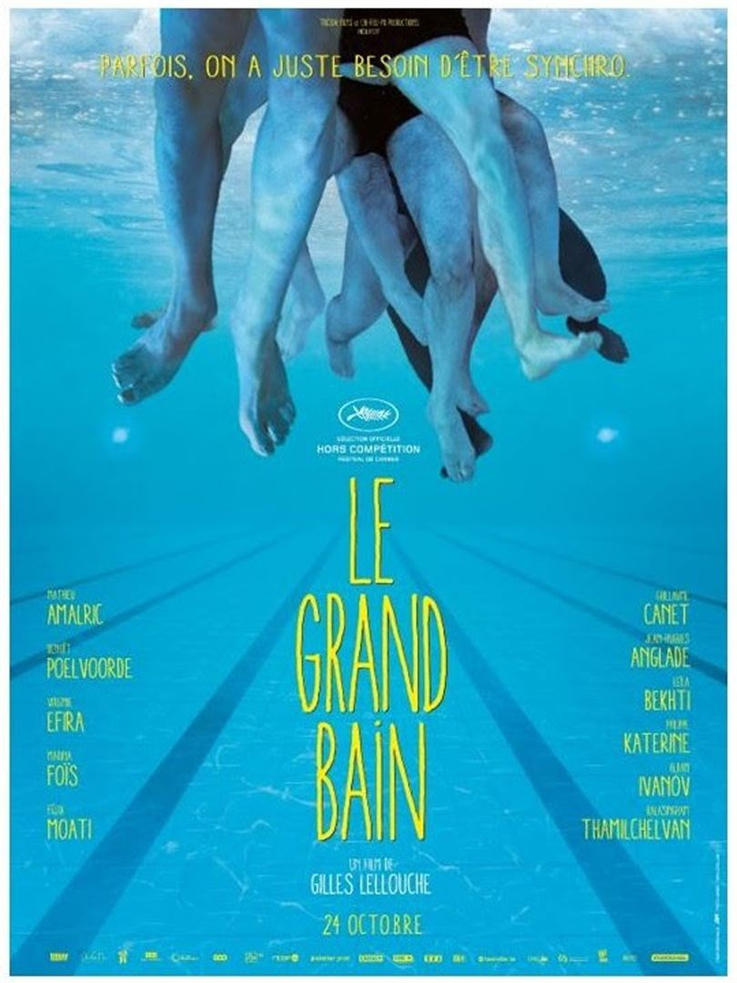 film  LE GRAND BAIN  megarama-casablanca