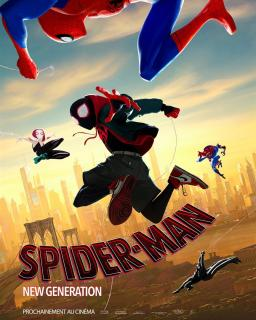 film  SPIDER-MAN : NEW GENERATION  megarama-fes