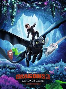 Film : Dragons 3 : Le monde caché