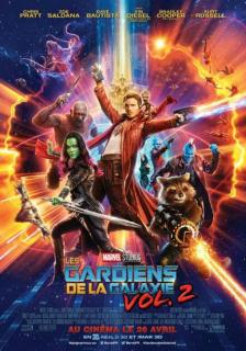film  LES GARDIENS DE LA GALAXIE 2  maroc