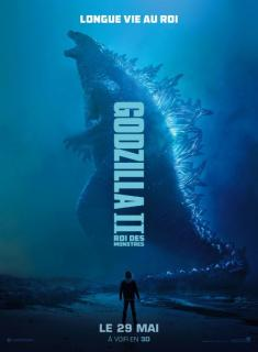 film  GODZILLA II ROI DES MONSTRES  megarama-casablanca