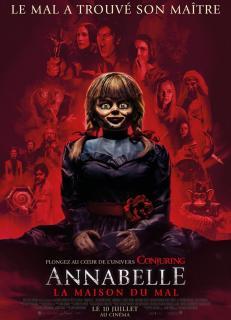 Film :  ANNABELLE – LA MAISON DU MAL