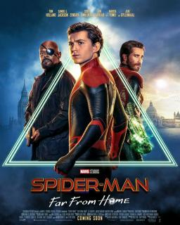 film  SPIDER-MAN: FAR FROM HOME  megarama-marrakech