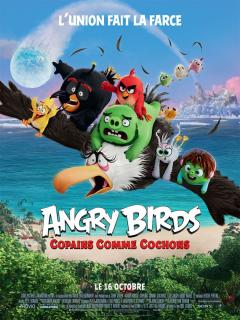 Film :  ANGRY BIRDS : COPAINS COMME COCHONS