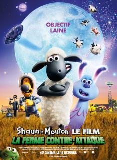 film  SHAUN LE MOUTON LE FILM : LA FERME CONTRE-ATTAQUE  megarama-casablanca