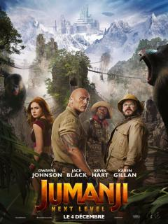 film  JUMANJI: NEXT LEVEL  megarama-casablanca